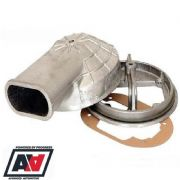 Webcon UK Weber DGV/DGAS Cast Aluminium 90 Deg Snorkel Plenum Kit